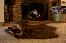 Animated Scarewolf Rug