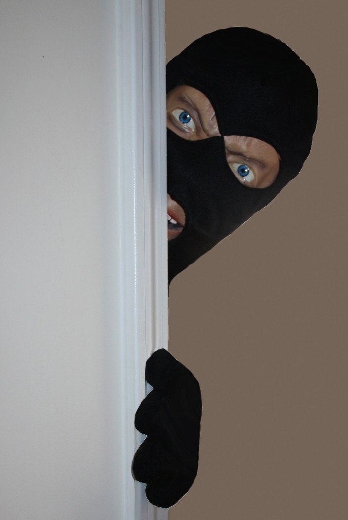 Scary Intruder